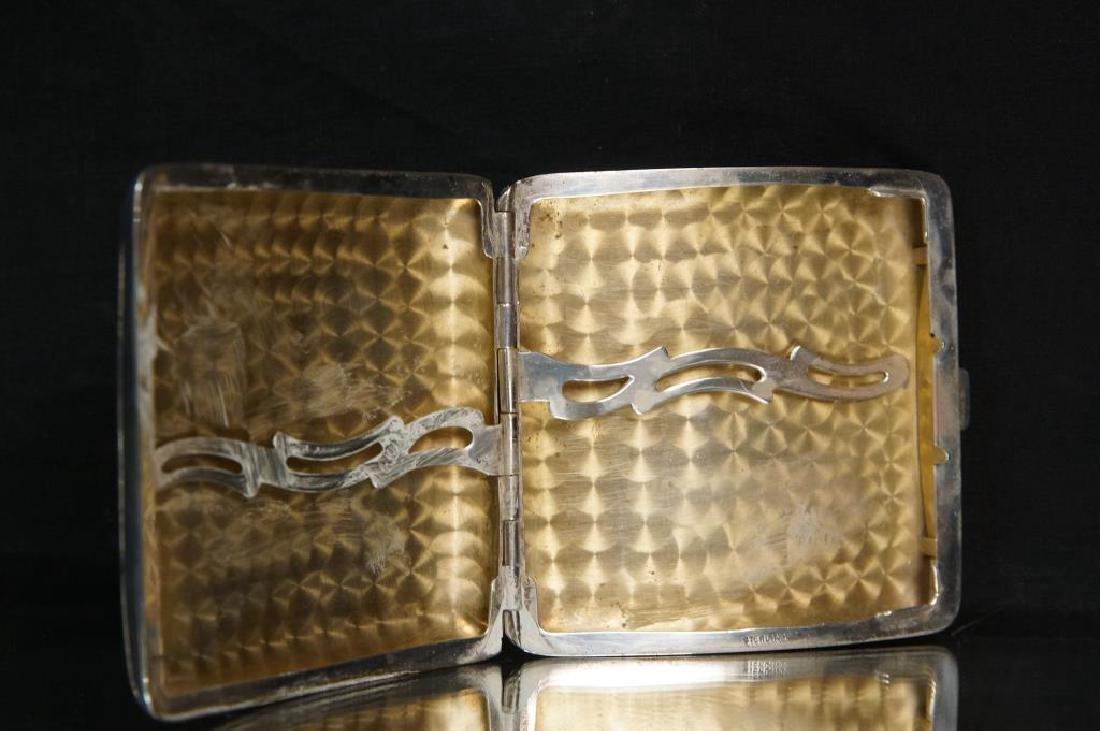 Antique Silver Purses, cigarette & match cases - 7