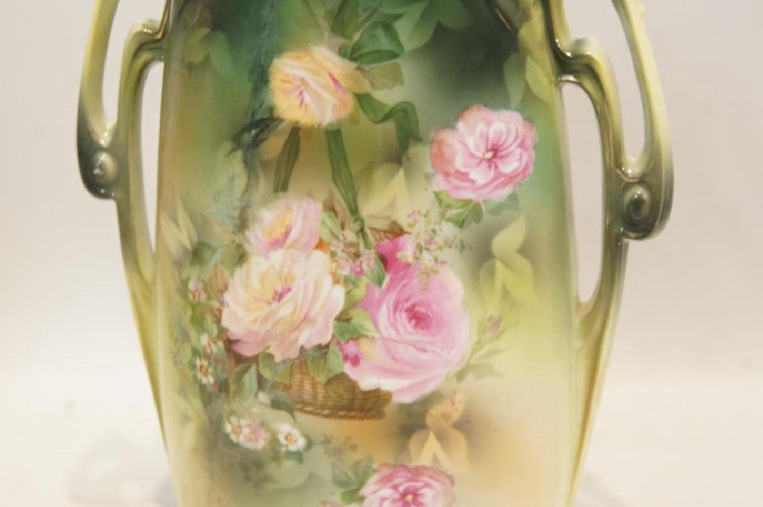R S Prussia tall vase - 2