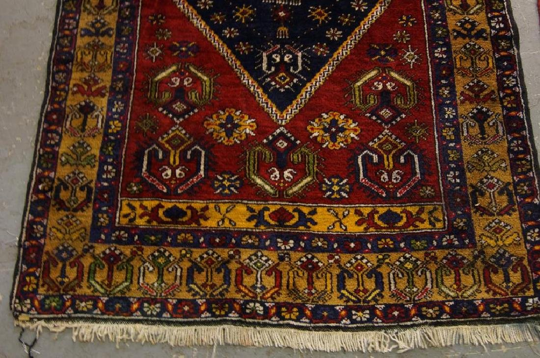 Antique Turkish woven rug - 2