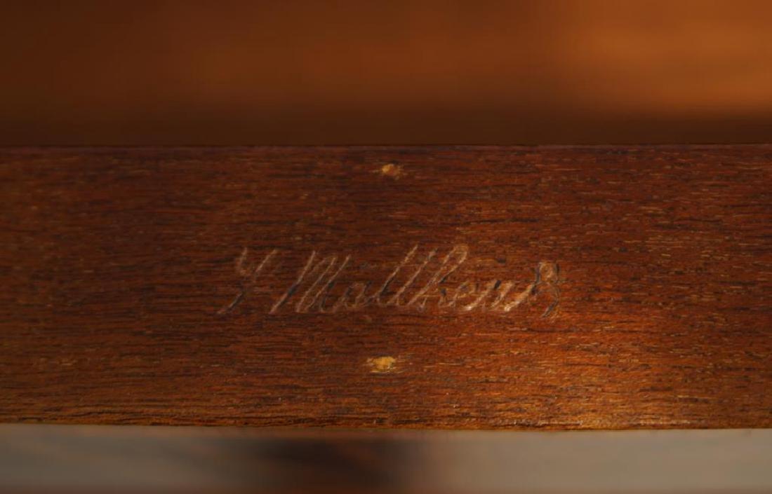 Sheridan flame mahogany server - 8