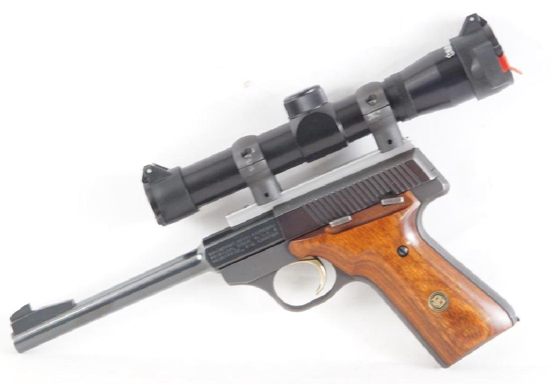 Browning  22 cal semi auto Challenger II