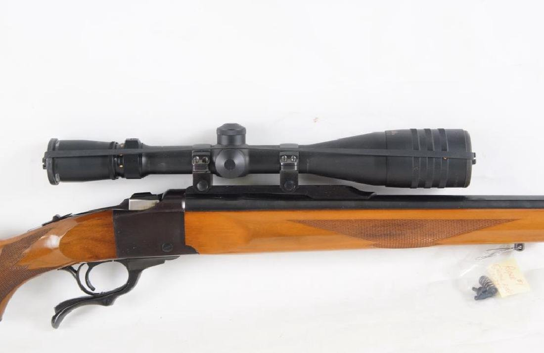 Ruger #1 22-250 Rifle with Weaver Long Range 6-24 - 3
