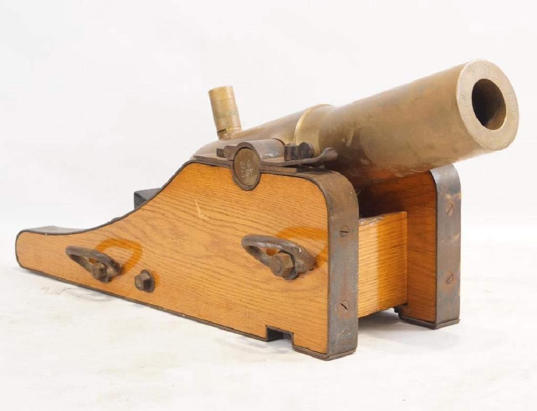 Bronze 1905 Lyle Coast Guard line throwing canon