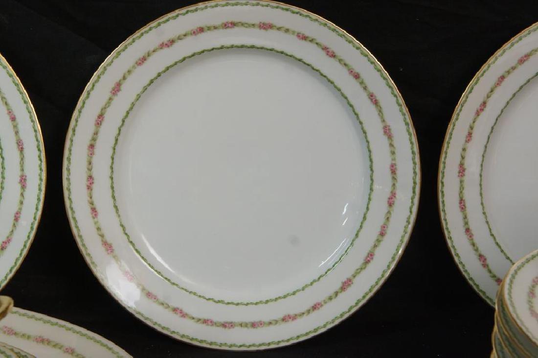 "Fine Limoges ""GDA"" china set - - 3"