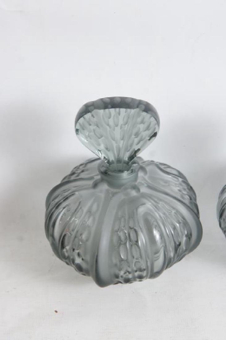 Lalique perfume & dresser set - 2