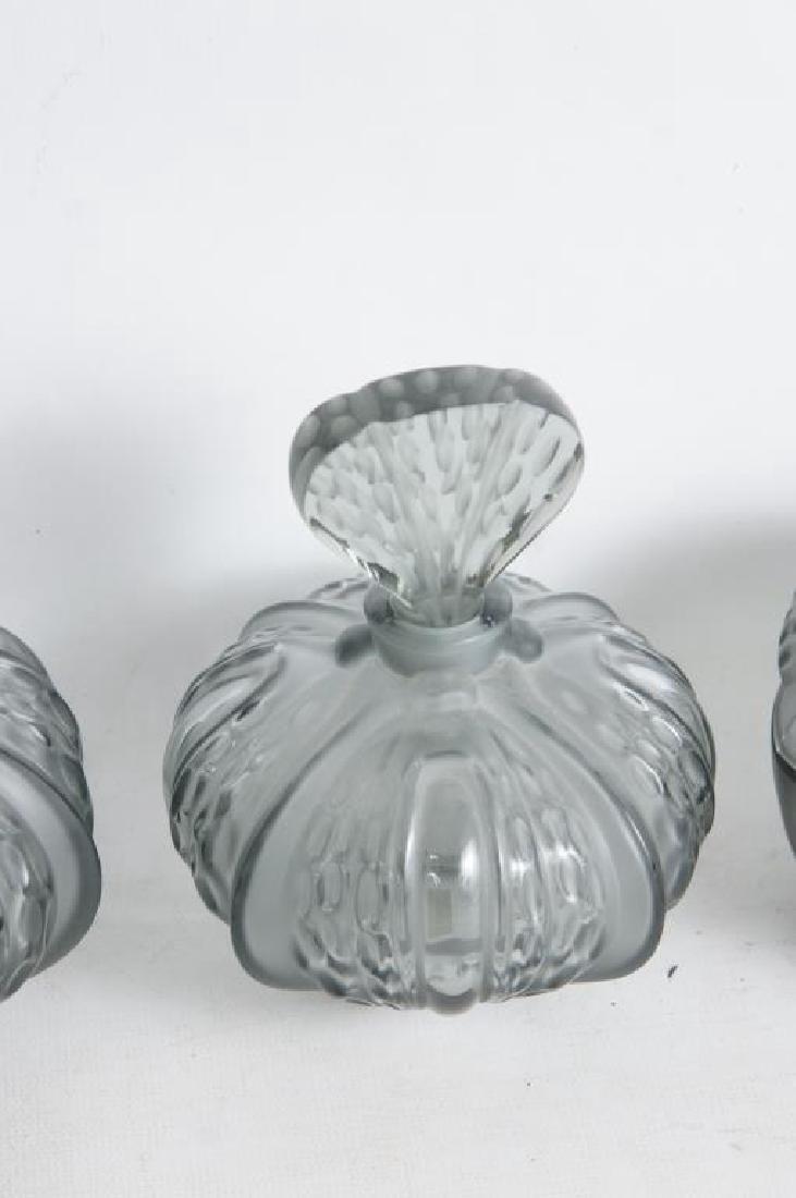 Lalique perfume & dresser set - 3