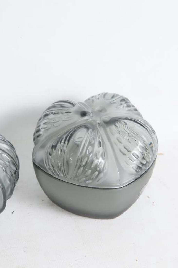 Lalique perfume & dresser set - 4