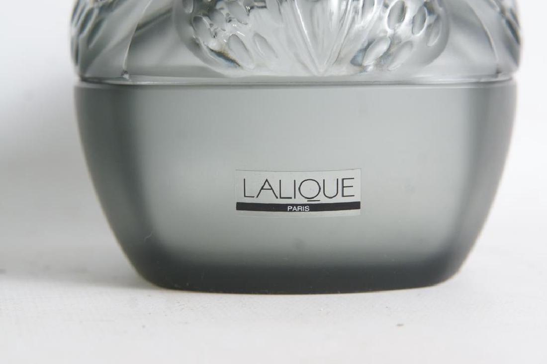 Lalique perfume & dresser set - 5