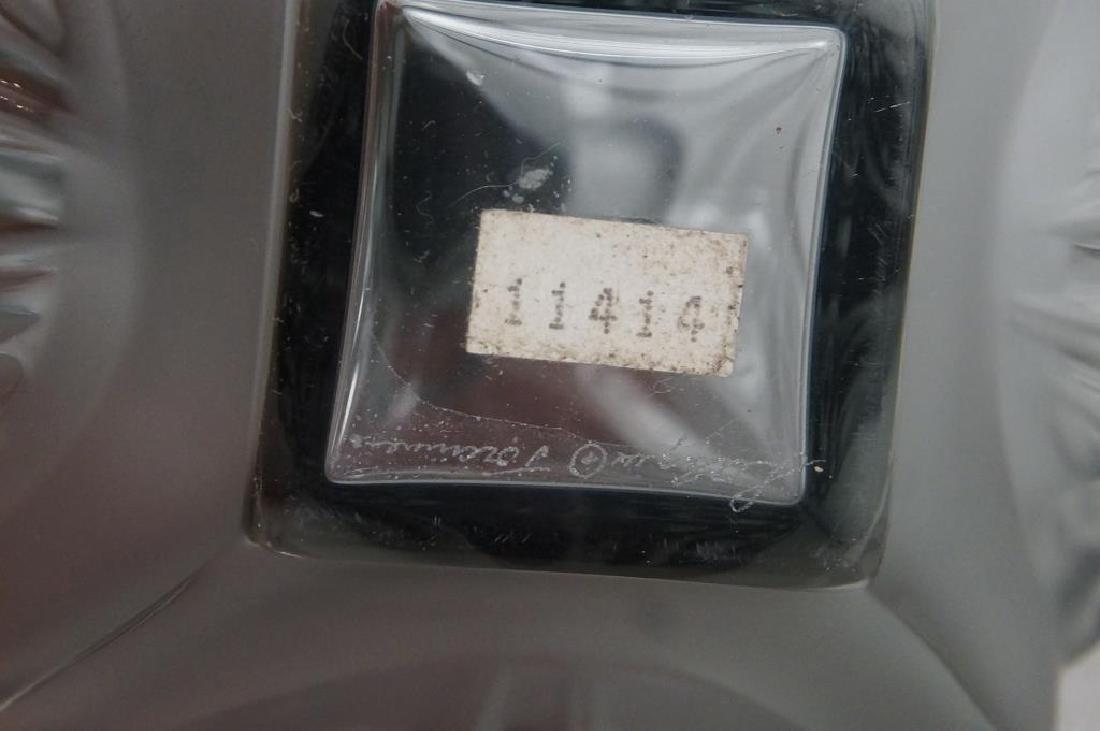Lalique perfume & dresser set - 8