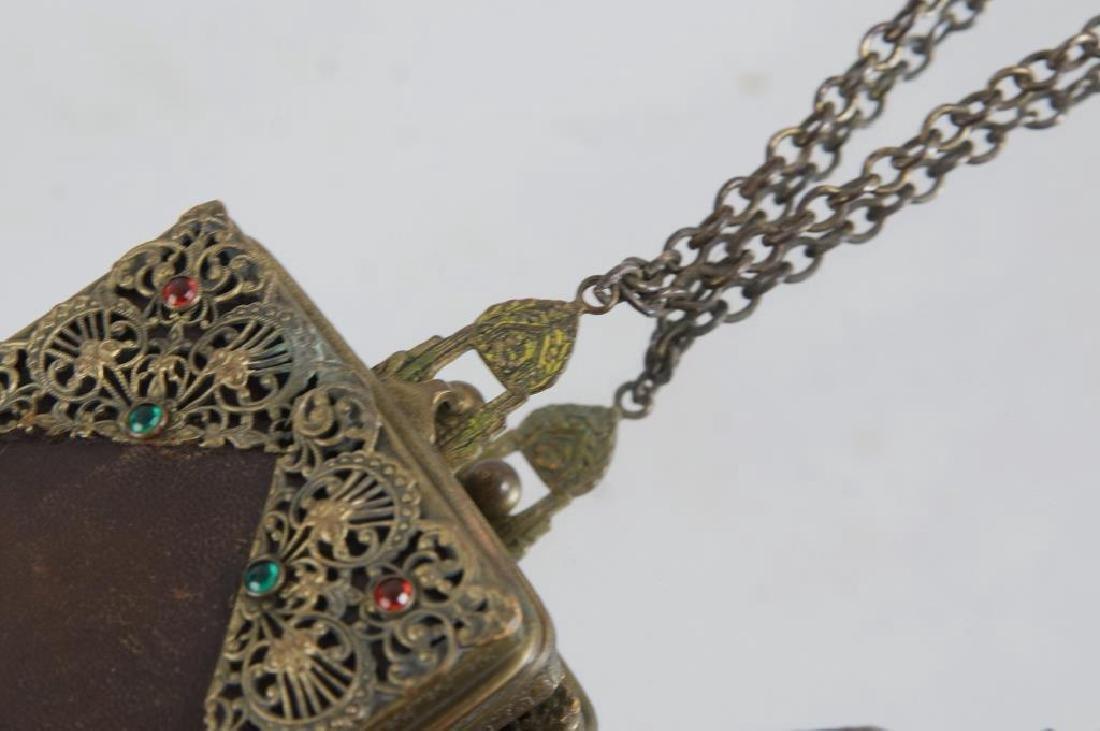 Filigree & jeweled antique purses - 5