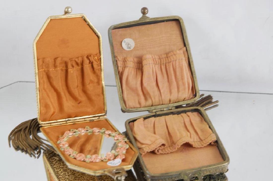 Filigree & jeweled antique purses - 6