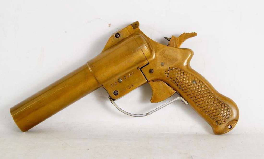 """Sklar"" Brass flare gun 2135 - 4"