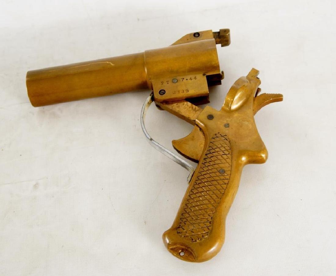 """Sklar"" Brass flare gun 2135 - 7"
