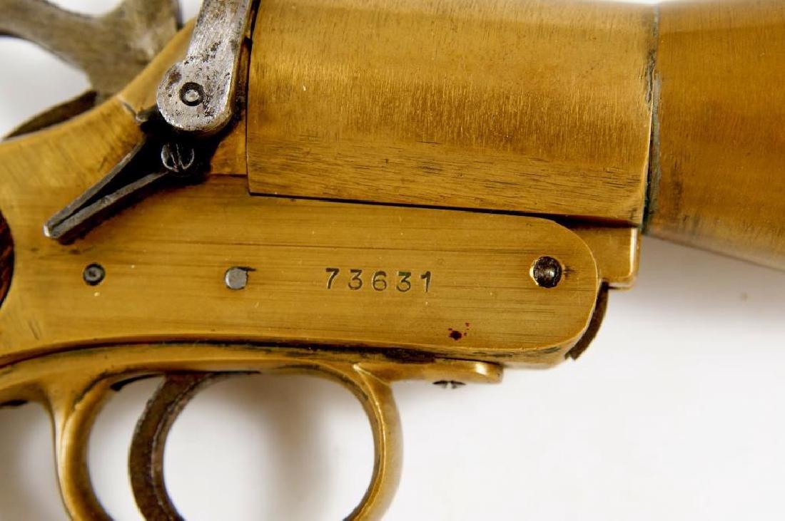 WWI Era English Schermuly Line Throwing Pistol - 4