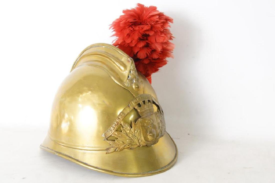 French antique Fire helmet - 2