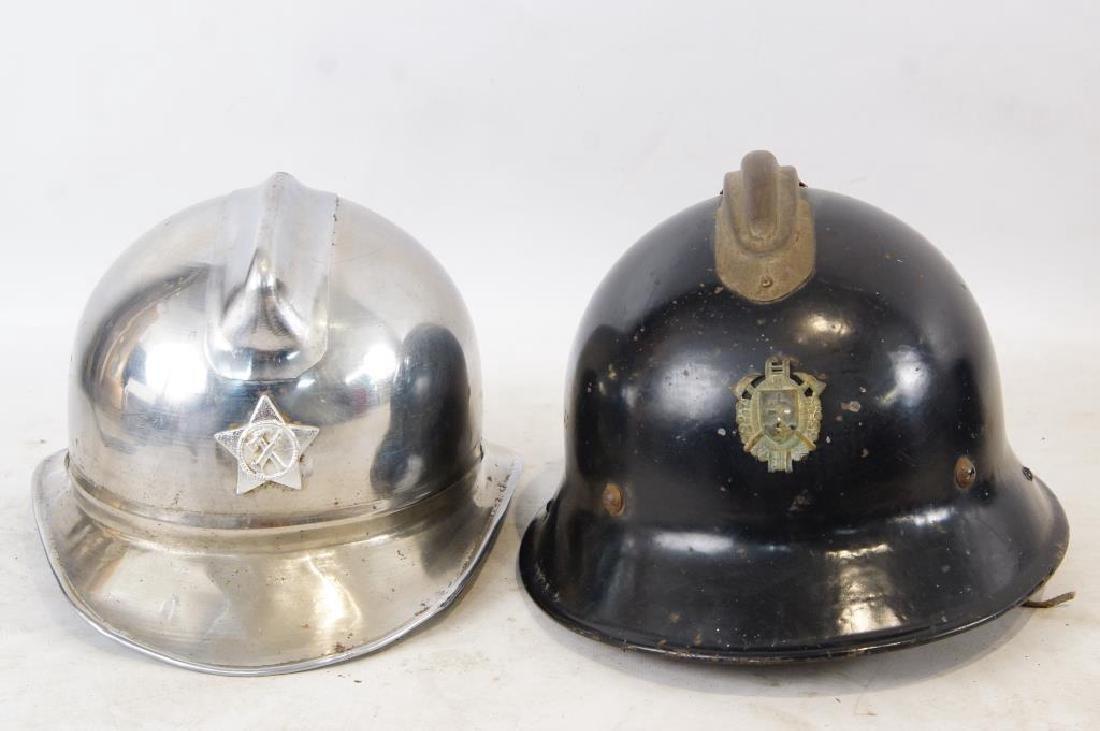 Bulgarian Fire helmet & Czech Fire helmet