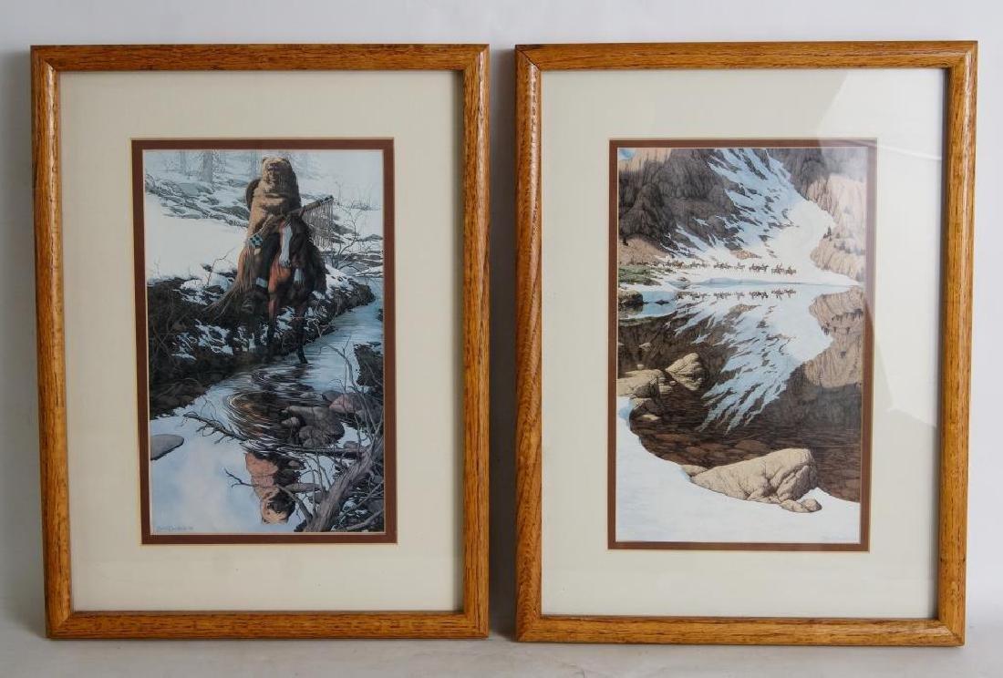 Two Beverly Doolittle Decorator Prints