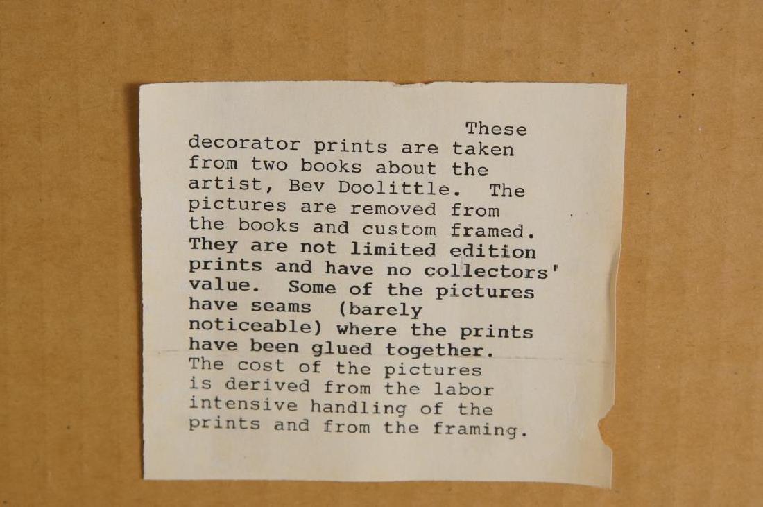 Two Beverly Doolittle Decorator Prints - 4
