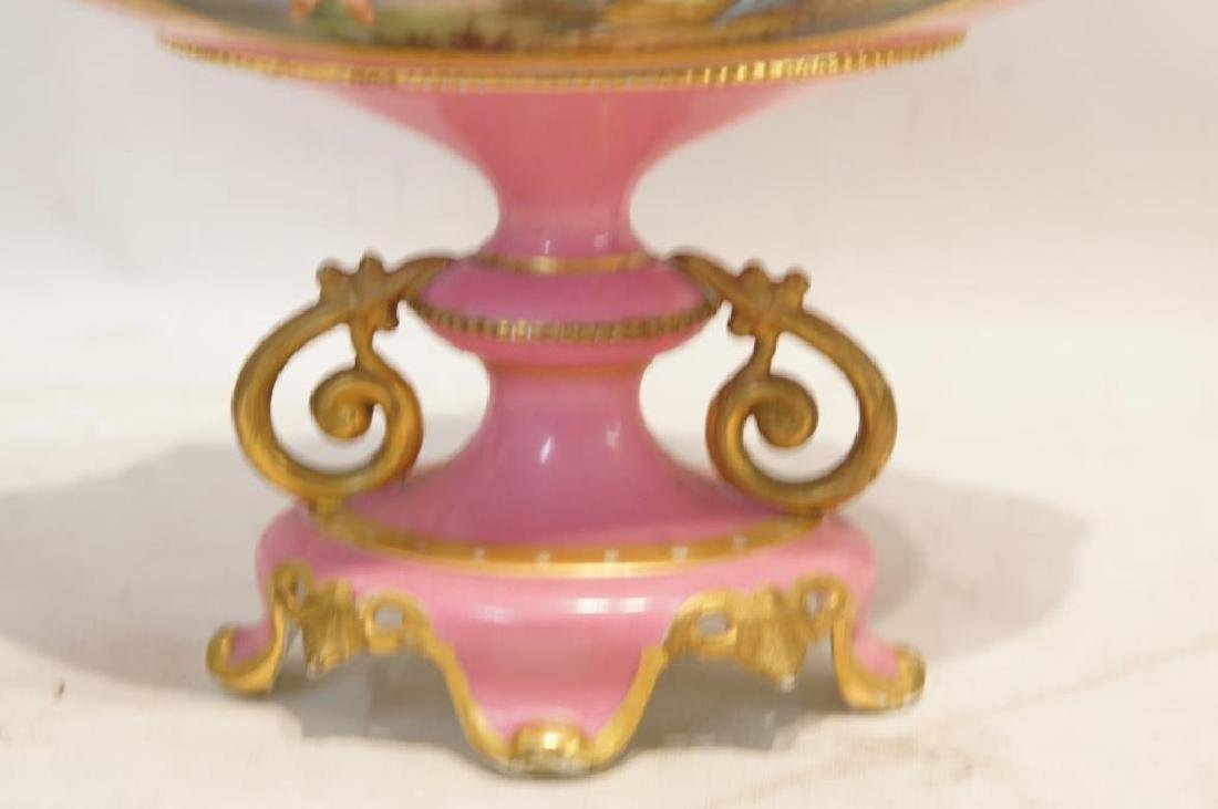 Dresden antique porcelain compote - 3