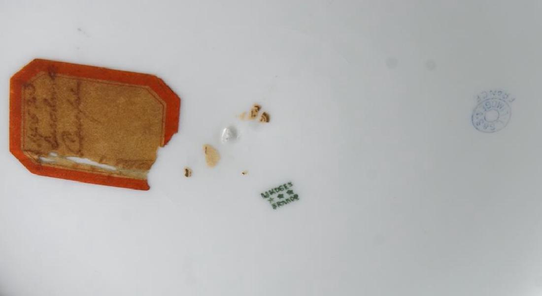 Limoges porcelain platter - pictorial - 4