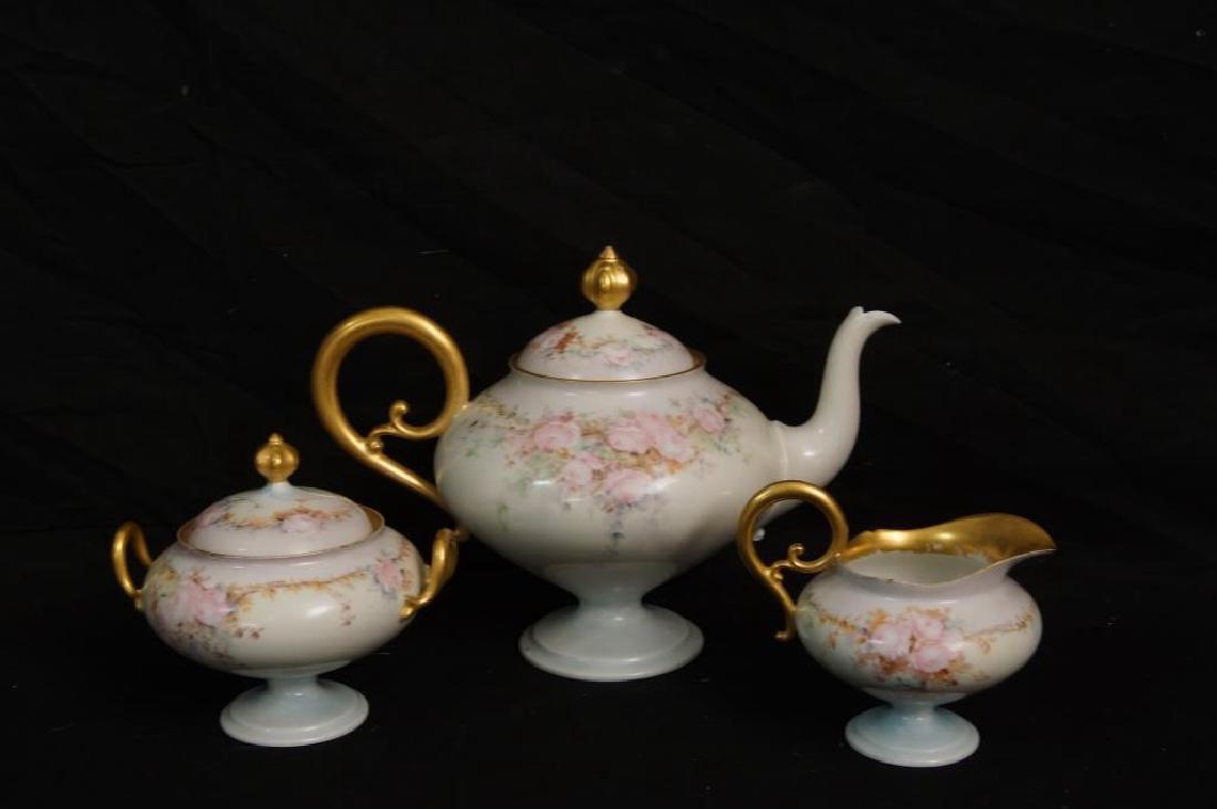 Limoges France (JPC) Tea set