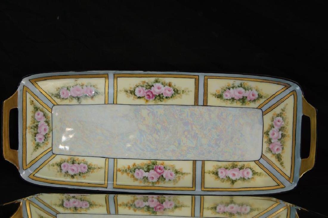 Art Nouveau plate, tray, & mug - 5