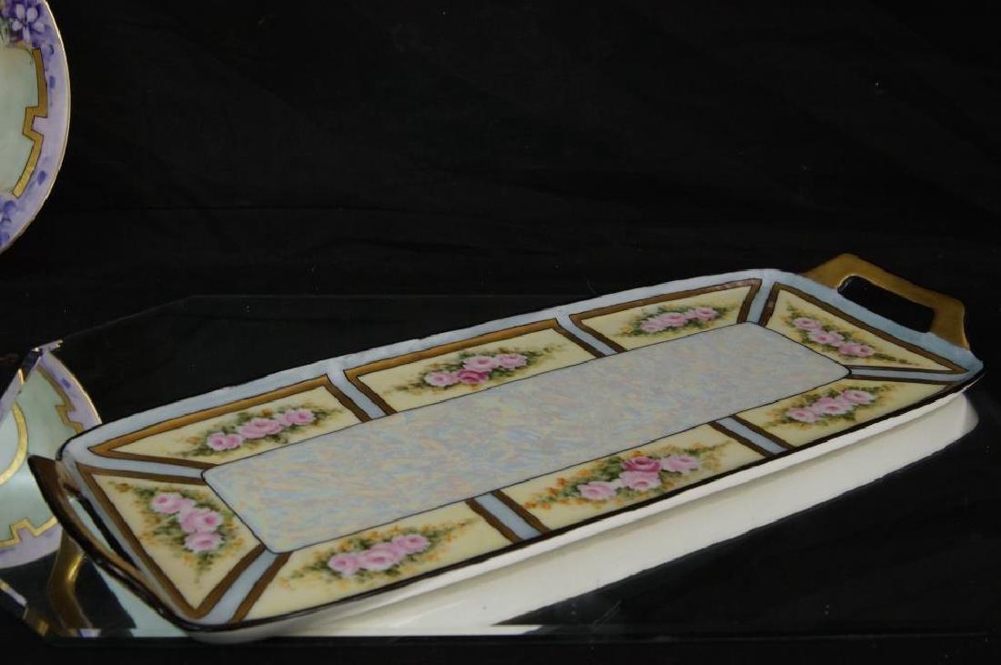 Art Nouveau plate, tray, & mug - 6