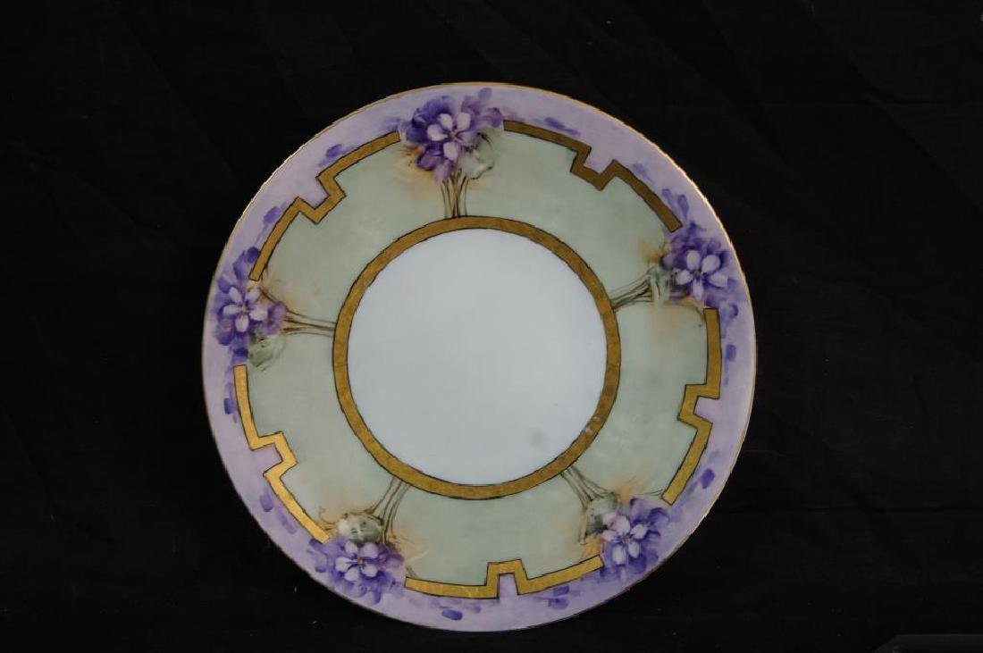 Art Nouveau plate, tray, & mug - 7
