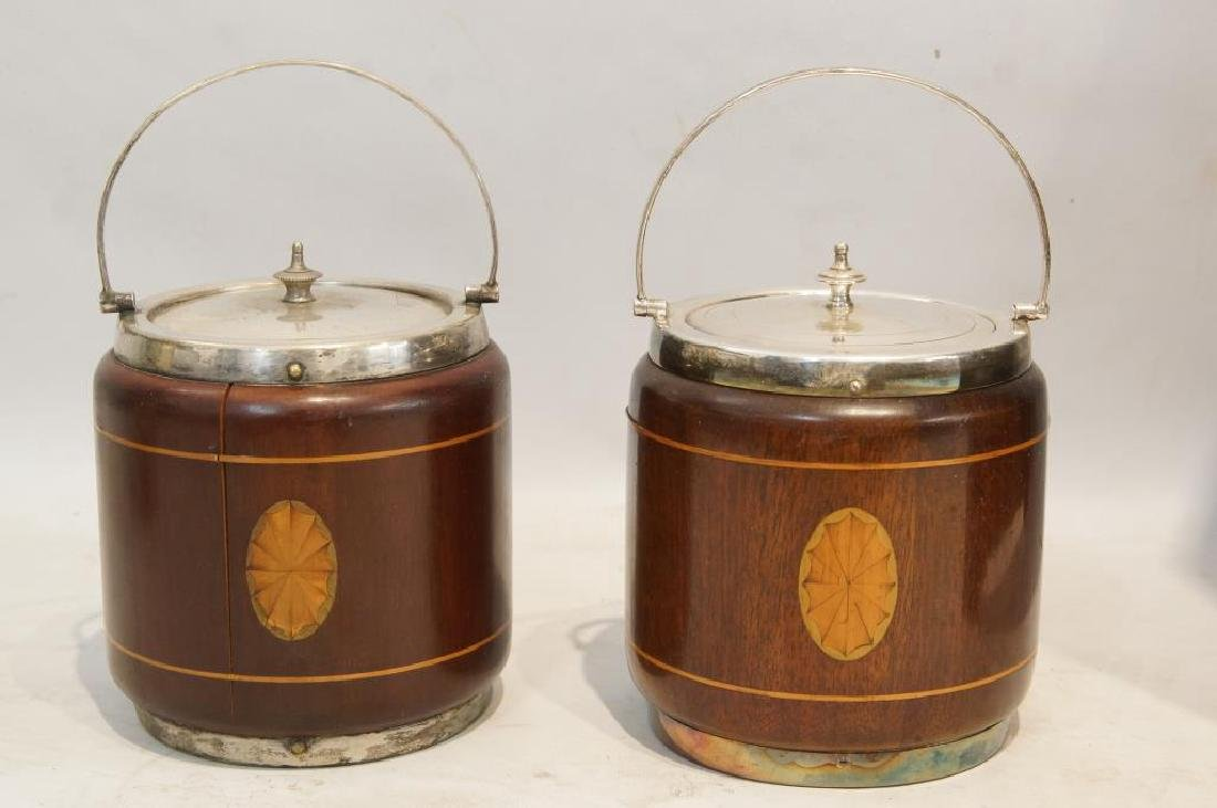 19th cent. Matching wood humidors - 2