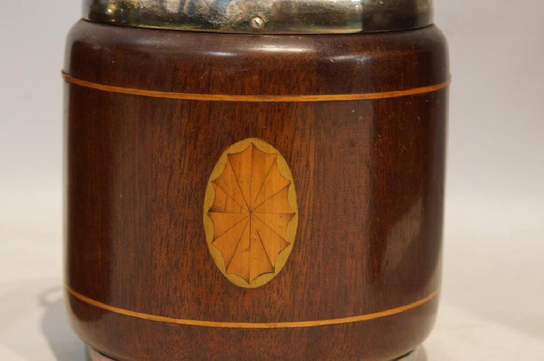 19th cent. Matching wood humidors - 2 - 2