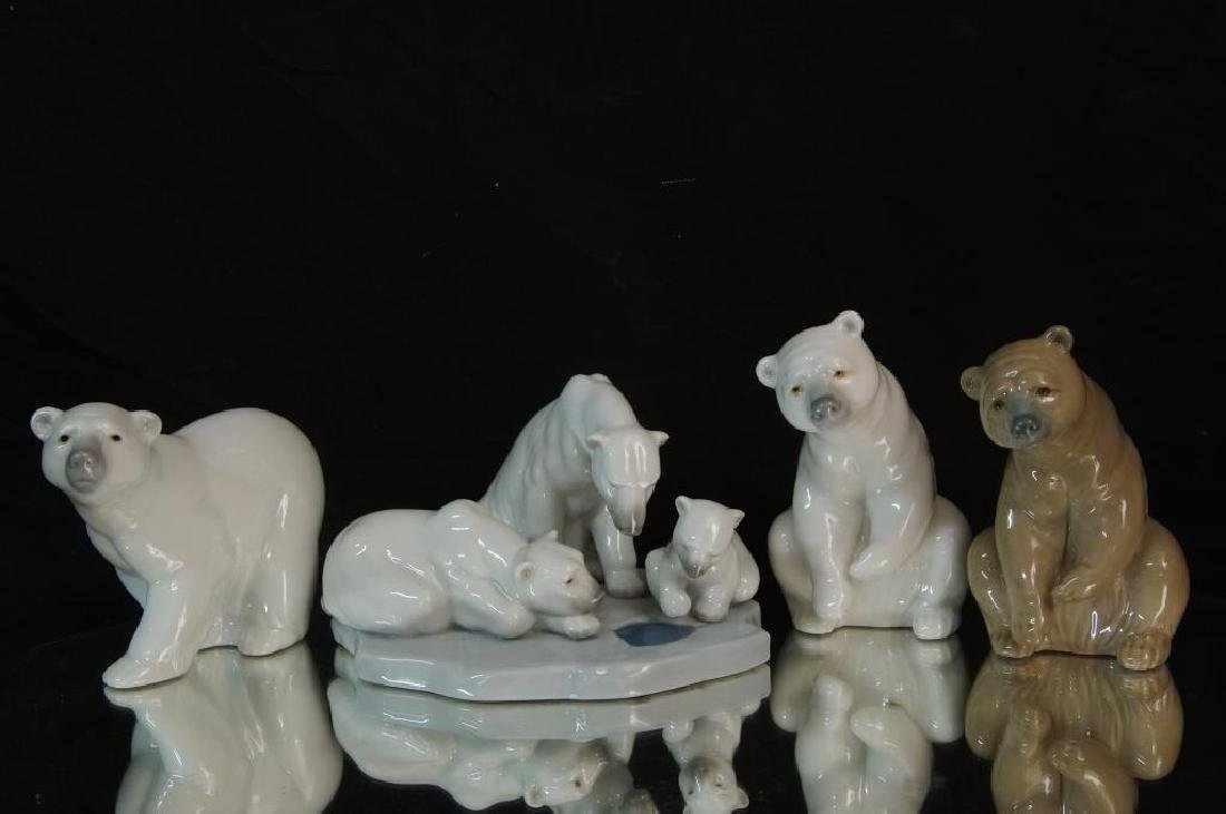 Lladro polar bears