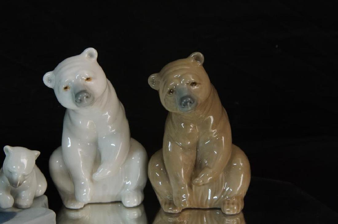 Lladro polar bears - 2