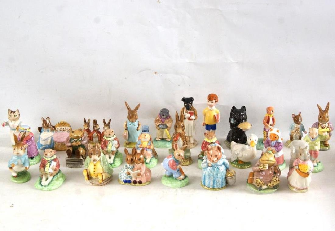 Approx 28 Beatrix Potter animals figurines