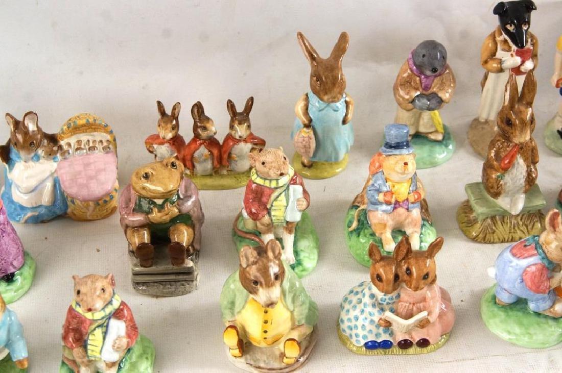 Approx 28 Beatrix Potter animals figurines - 5