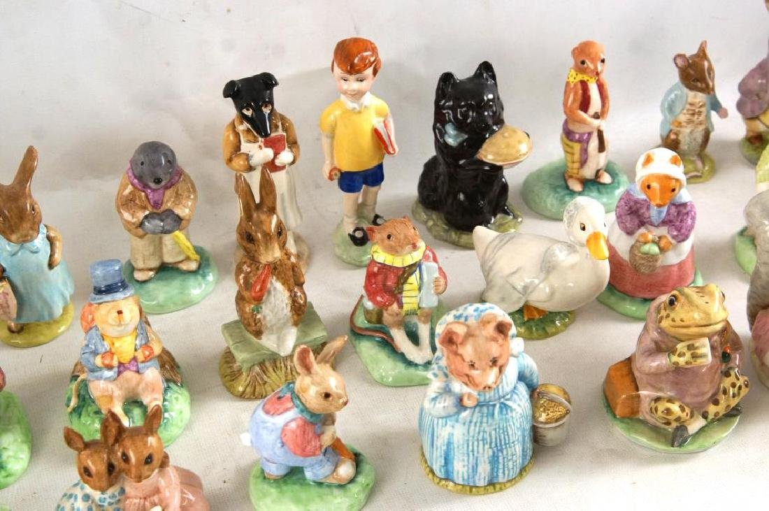 Approx 28 Beatrix Potter animals figurines - 6