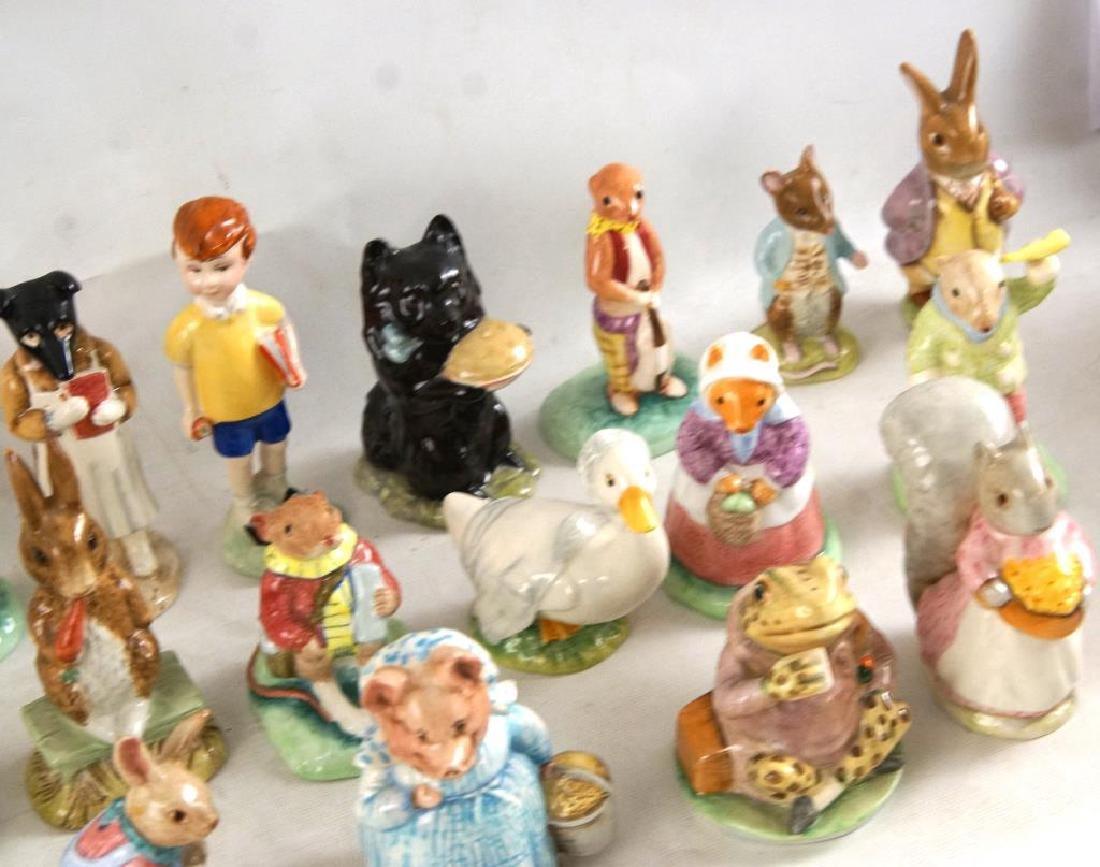 Approx 28 Beatrix Potter animals figurines - 7