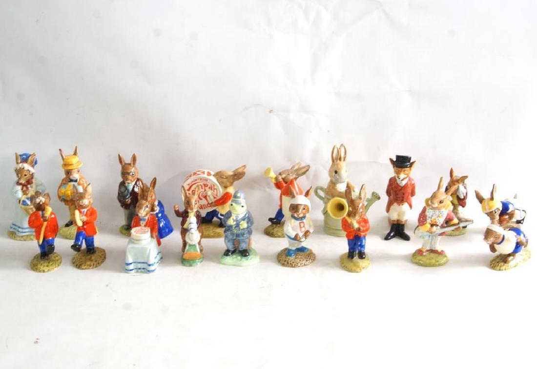 Royal Doulton Beatrix Potter bunnies & characters