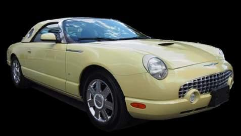 "2005 Ford Thunderbird 50th Anniversary"" Inca Gold"""