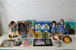 Wizard of Oz Collection with dolls