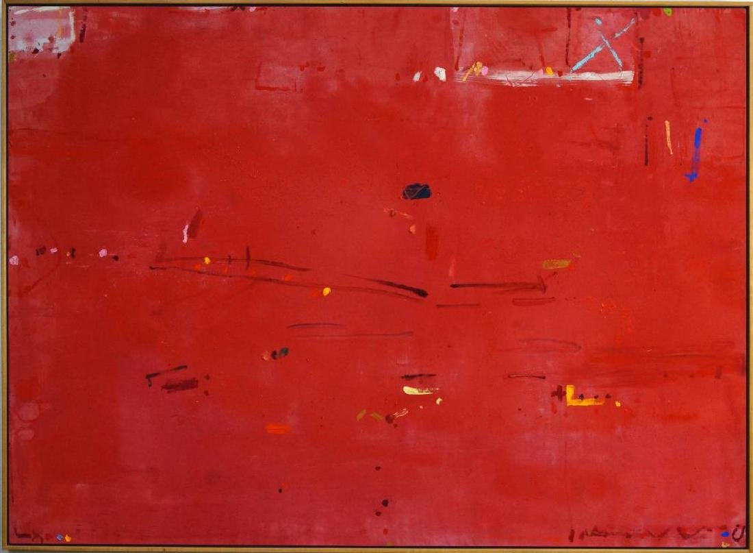 KIKUO SAITO (1939) oil on canvas