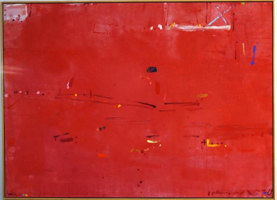 KIKUO SAITO (1939) oil on canvas - 2