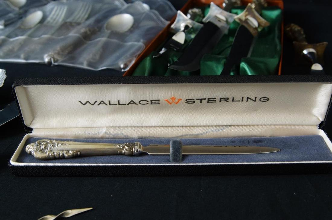 Wallace Grand Baroque Sterling Flatware - 4