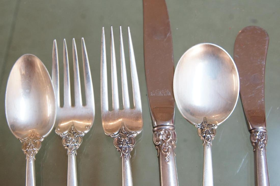 Wallace Grand Baroque Sterling Flatware - 6