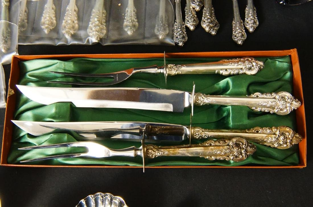 Wallace Grand Baroque Sterling Flatware - 7