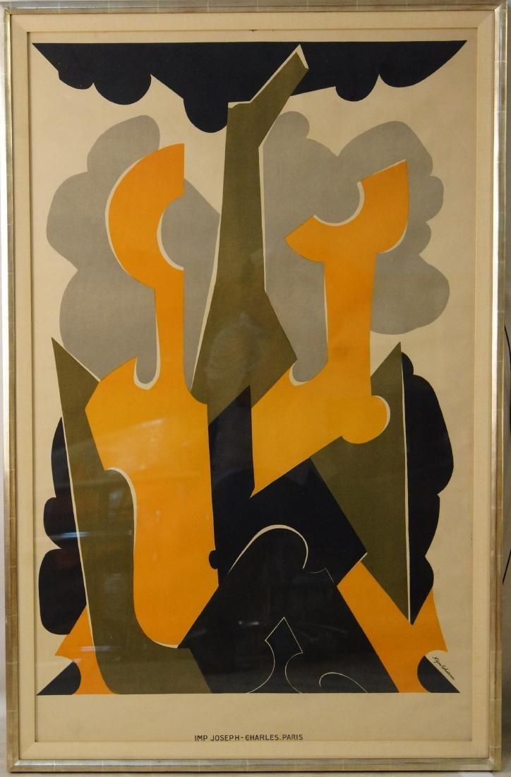 Natalia Goncharova (1881-1962) French Art Poster