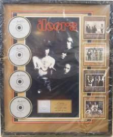 """The Doors"" Gold Record presentation to R Manzarek"