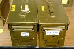 280 - 12 gauge shot gun shells in 2 Ammo cans