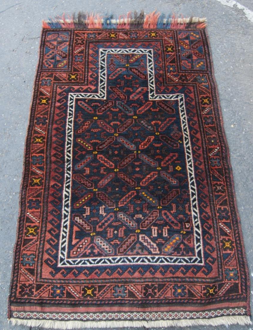19th c. Beluch prayer rug