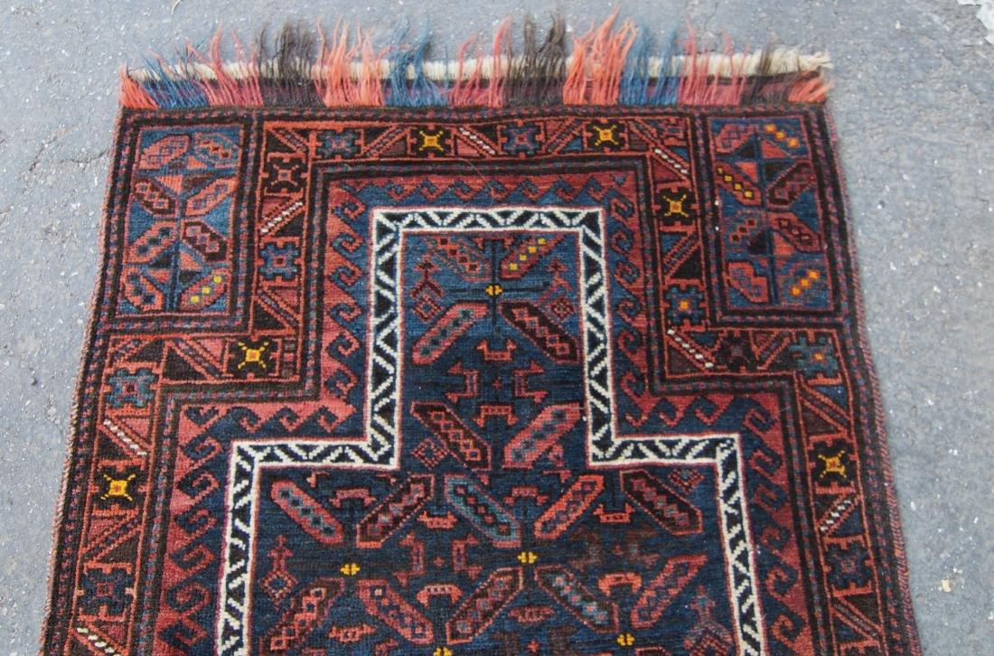 19th c. Beluch prayer rug - 4