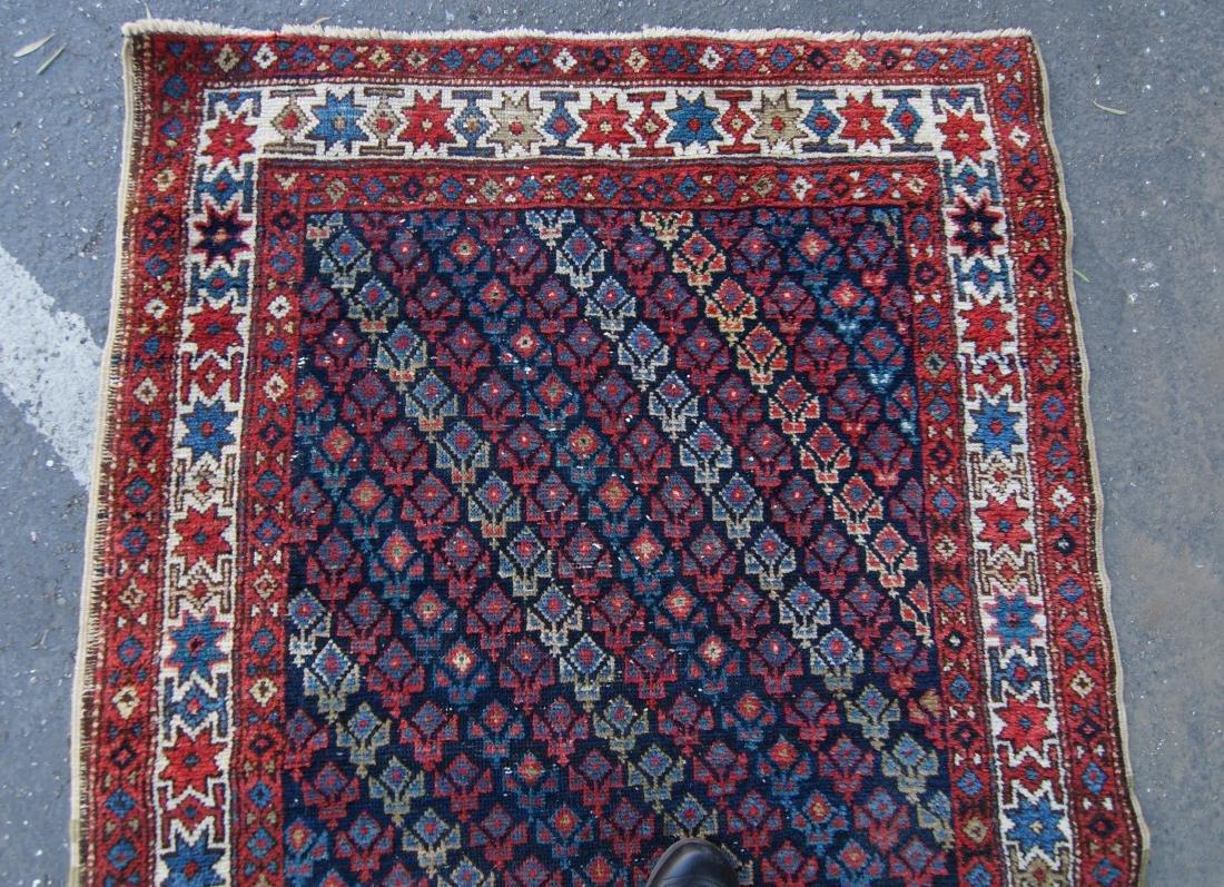 """19th c.  Caucasian rug - 35"""" x 52"""" - 2"""